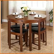 small round dining set