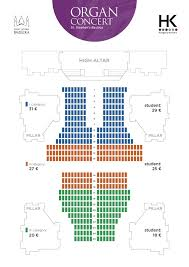 Jordan Hall Seating Chart Seating Plan Of The St Stephens Basilica Organ Concerts