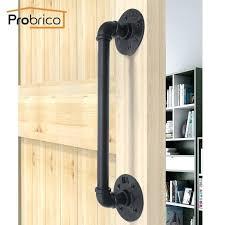 rustic barn door pulls rustic black barn door handles pulls grab bar sliding invisible wood