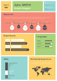 How To Create And Use An Infographic Resume Career Personal