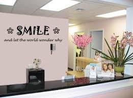on dental practice wall art with dental and orthodontist wall decals vinyl wall art