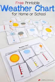 Weather Chart Free Printable Free Printable Interactive Preschool Calendar Preschool