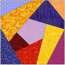 17 best Crazy quilt pattern images on Pinterest | Hardanger ... & free to print quilt patterns | ALL STITCHES - CRAZY QUILT PAPER PIECING  QUILT BLOCK PATTERN Adamdwight.com