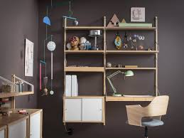office shelf unit. Shelves : Swell Attractive Ikea Office Home With Wall Mounted Shelving Unit In Bamboo Desk Combined Units Modular Metal Wire Shelf Utility S