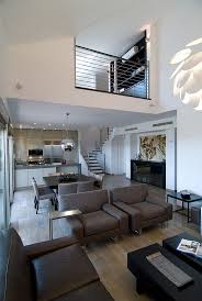 loft living room ideas ebbe partial loft middot modern living room designscontemporary