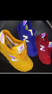 new balance shoes red and blue. shoes new balance red yellow blue casual solid colored one coloured reflective and w
