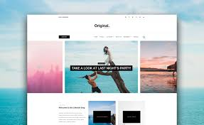 Bootstrap Website Want To Make A Blog Download This Free Bootstrap Blog