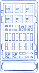 ford e350 1997 fuse box block circuit breaker diagram carfusebox 1989 Ford Van Fuse Box Diagram ford e350 1997 fuse box block circuit breaker diagram