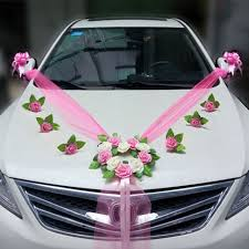 Wedding Car Decorations Accessories Wedding Car Decoration Sets Artificial Flower Diy Garlands Wreath 5