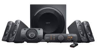 Logitech Z906 5.1 Surround Sound Speaker System - THX, Dolby Digital and  DTS Digital Certified - Black