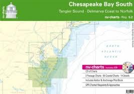 Nv Chart Atlas Reg 5 2 Chesapeake Bay Tangier Sound