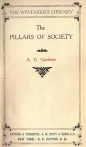 a g gardiner open library pillars of society by a g gardiner