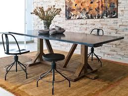 charming metal top dining table 4 metal top dining table t94 metal