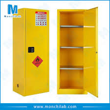 laboratory chemical storage cabinet for flammable liquid