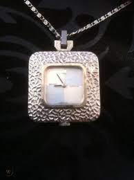 vintage seiko necklace watch working