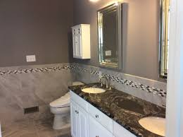 Granite Bathroom Tile Gorgeous New Master Bathroom That Features Black Forest Leathered