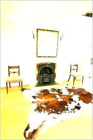 large cowhide rug faux cow skin rugs extra for dark brindle medium cowh