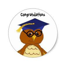 congratulations to graduate congratulations graduate stickers zazzle