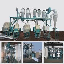Flour Milling Plant Design Hot Item 2020 New Design Wheat Maize Corn Flour Milling Machines Plants 10t