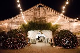 barn wedding lighting. Wedding Reception Venue Barn Lighting