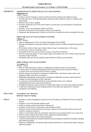 Quality Resume Samples Director Quality Management Resume Samples Velvet Jobs 14