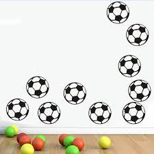 10 Voetbal Diy Muursticker Voor Kinderkamer Jongens Slaapkamer Muur