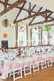 this cute diy wedding in a village hall is every crafter s dream