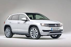 new car release dates 2015 ukChunky look for new VW Tiguan 2015 pictures  VW Tiguan 2015 front