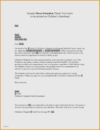 Donation Letter Example Invitations Templates Free Online