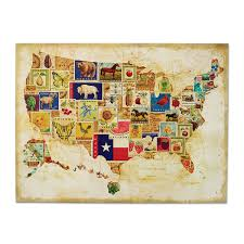 wooden usa map wall art modern bedrooms ideas oil painting