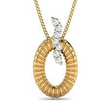 diamond pendant designs 0 07 ct real certified diamond solid gold party