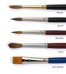 types of brush hair