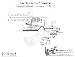 1 humbucker 1 volume pull for north single coil school stuff basic guitar wiring diagram one humbucker and one volume control