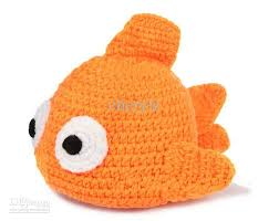 cute baby clown fish. Wonderful Fish Newborn Baby Crochet Hats Clown Fish Knit Lovely Caps Infant Handmade  Cartoon Toddler Beanie BB36 Throughout Cute