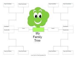 Free Family Tree Templates Online Jasonkellyphoto Co