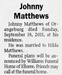 John Matthews obit - Newspapers.com