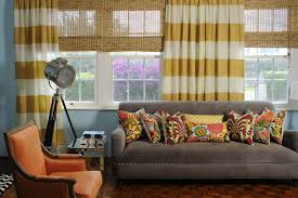 Striped Living Room Curtains Horizontal Stripe Curtain Fabric Bestcurtains