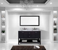 60 inch black bathroom vanity. virtu usa ed-30060-wmsq-es winterfell 60-inch double bathroom vanity 60 inch black