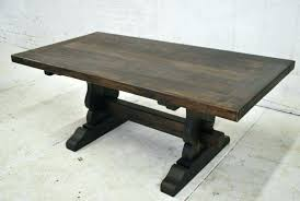 reclaimed wood dining table charming v round d