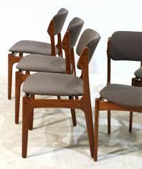 dining chairs beautiful 4 erik buch od 49 mcm teak chairs will be custom
