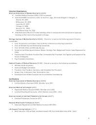Medical Technologist Resume Examples Resume Sample Directory