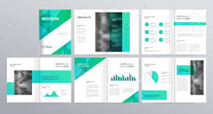 Brochure Templates For It Company Layout Template For Company Profile Annual Report Brochures