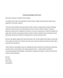Work Recommendation Letter Work Reference Letter Format Recommendation Letter Template For
