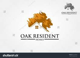 Design Logo From Scratch Vector Logo Design Template Oak Tree Stock Image Download Now