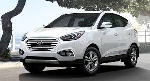 Hyundai Tucson Fuel Cell Gets Two New Colors For 2016, HomeLink  Connectivity | Carscoops
