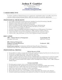 resume objective statement for entry level engineer human resources  templates