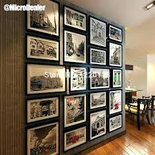 metal collage frames alluring large wall decorating design of picture photo colla collage driftwood picture frames