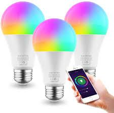 Where Can I Buy Coloured Light Bulbs Smart Light Bulb E26 9w Wifi Color Changing Led Bulbs Work With Alexa Google Home Tunable White 2700 6500k Dimmable Rgb Lighs Bulb A19 900lm No Hub