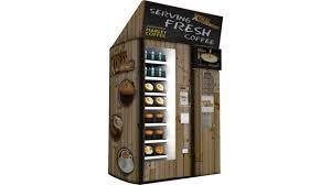 Avt Coffee Vending Machine Gorgeous AVT Unveils New Automated Micro Store VendingMarketWatch