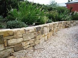 retaining wall ideas desert